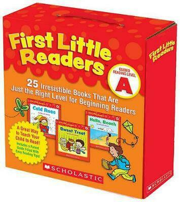 First Little Readers: Guided Reading Level A: 25 Irresistible Books That Are Jus
