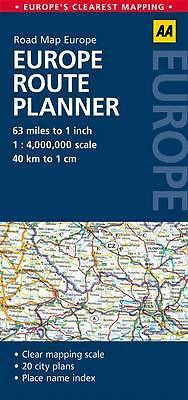 Europe Route Planner, AA Publishing