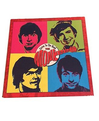 The Monkees Listen To The Band 4 CD Boxed Set With Poster and Booklet Rhino 1991