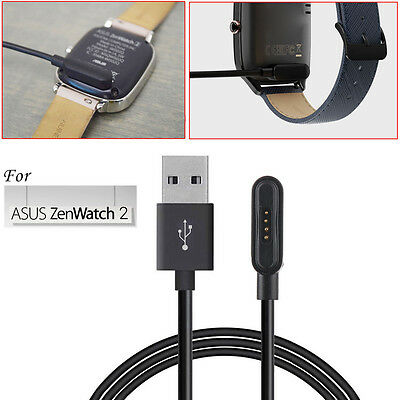 3.3Ft For ASUS ZenWatch 2 Smart Watch USB Magnetic Faster Charging Cable Charger