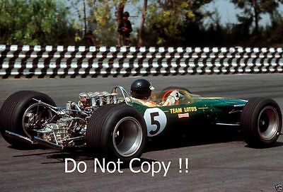 Jim Clark Lotus 49 Winner Mexican Grand Prix 1967 Photograph 1