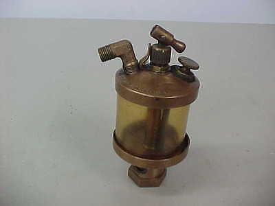 Vintage Brass Hit Miss Engine Oiler Lubricator (Essex Brass Corp., Detroit)