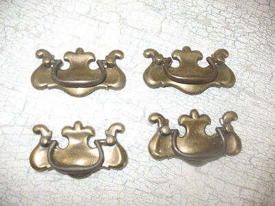 Vintage Chippendale Drawer Pulls - Lot of 4 ~67B7