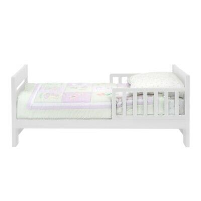 DaVinci Modena Toddler Bed in White - M0710W