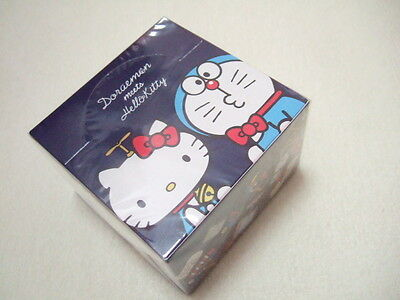 Sanrio Hello Kitty meets Doraemon memo pad block memo NEW 300 sheets