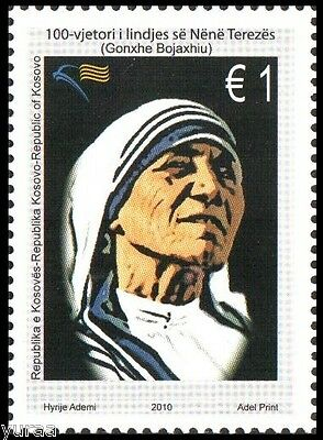 Kosovo - 2010 - Mother Theresa, 1v