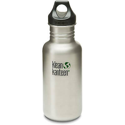 KLEAN KANTEEN CLASSIC 532ml (18oz) BOTTLE WITH LOOP CAP