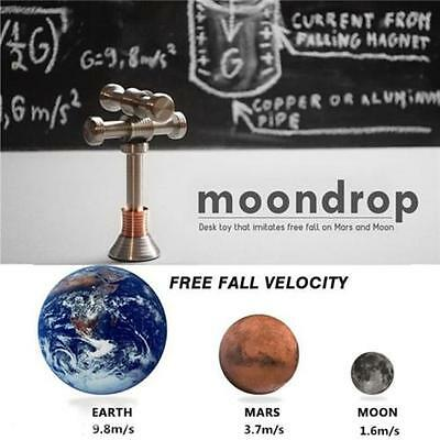 MOONDROP Fidget Desk Toy Hand Spinner Displaying Gravity On Moon Earth Mars Gift