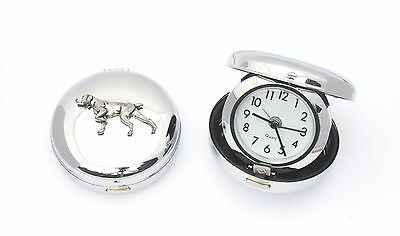Pointer Dog Style Portable Alarm Clock Hunting HPR GIft