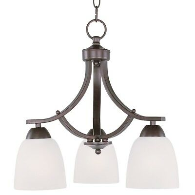 Maxim Lighting Axis 3-Light Chandelier in Oil Rubbed Bronze - 11223FTOI