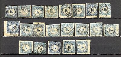 Hungary – Lot Of Old Newspaper Stamps. Various Condition. Interesting As Is On S