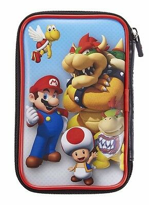 Mario / Bowser Nintendo New 3DS / 3DS XL Case - Protector Case and Holds Games