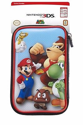 Mario / Donkey Kong Nintendo New 3DS / 3DS XL Case - Protector Case Holds Games