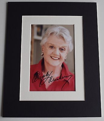 Angela Lansbury Signed Autograph 10x8 photo display Murder She Wrote TV & COA