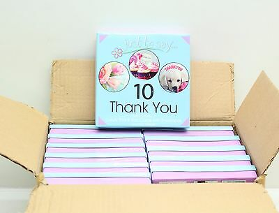 Wholesale Job Lot 12 x Tallon 10 Pack Just To Say Thank You Luxury Party Cards