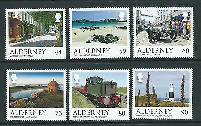 Alderney 2017 Alderney Scenes Set Of Stamps Unmounted Mint, Mnh