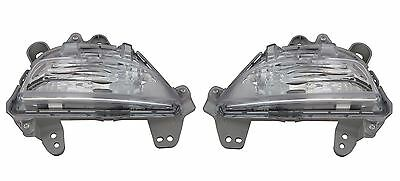 Mazda 3 2013-> Clear Front Indicator Light Pair Left & Right
