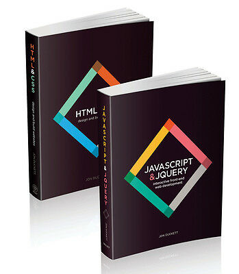 Web Design with HTML, CSS, JavaScript and jQuery Set, Jon Duckett