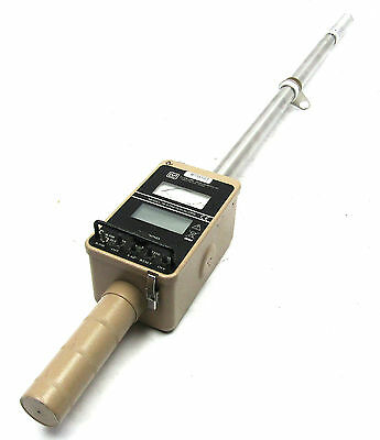 Ludlum 78 Stretch scope Telescoping gamma survey meter