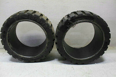 Lot of 2 Total Source Forklift Tire 18x8x12 1/8