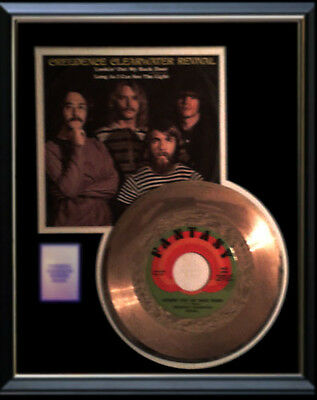 Creedence Clearwater Revival Gold Record Looking Out My Back Door  Rare 45