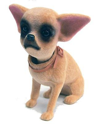 STAND UP BOBBLE HEAD CHIHUAHUA DOG mexican dog bobbing heads car dash pupppy