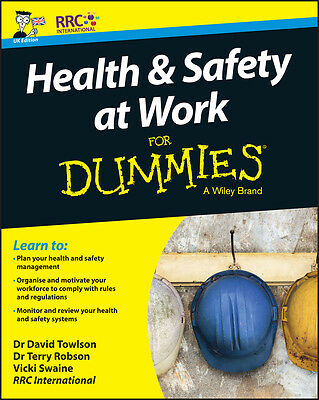 Health and Safety at Work For Dummies,  RRC