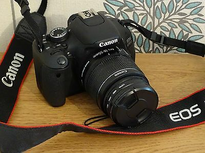 Canon EOS 600D +18 - 55 MM IS II Lens
