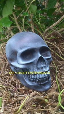 New Design Rubber Latex Mould Moulds Mold To Make Gothic Halloween Skull Head #2
