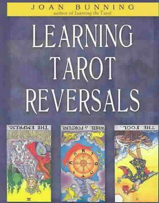 Learning Tarot Reversals by Joan Bunning (English) Paperback Book Free Shipping!
