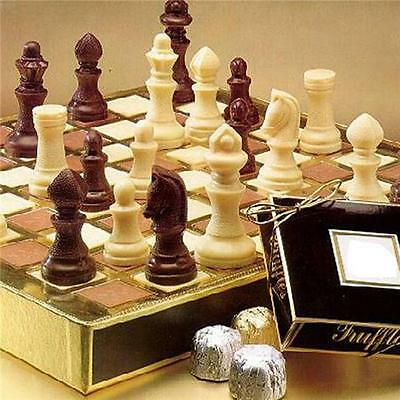 Chess Pieces Parts Game Chocolate Candy Mold Create Design Board Game New LA