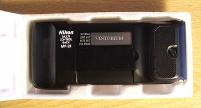 Nikon MF-21 Multi-Control Data Back for F-801 N8008 Body Camera *NOS* (mf21)
