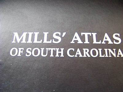 1825 Mills History Atlas of South Carolina by Robert Mills Leather Edition