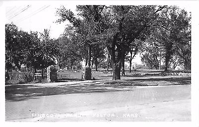 c1940 Linscott Park, Holton, Kansas Real Photo Postcard/RPPC