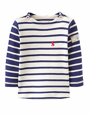 Joules Shirt babharbour Striped Blue Size 56 - 98 NEW