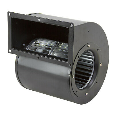 Two-Speed Centrifugal Blower, 115 Volt AC, 428/293 CFM, Rotom R7-RB428,  16-1542