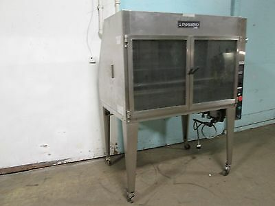 """hardt Inferno"" Heavy Duty Commercial Natural Gas Chicken/rib Rotisserie Oven"