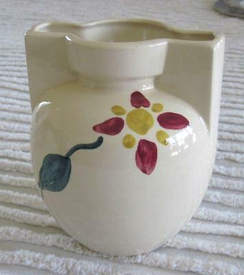 """Purinton Pottery Unusual Floral Pattern 6"""" Vase"""
