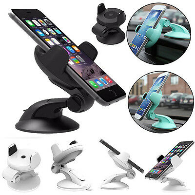 Universal 360° Rotating Car Windshield Mount Holder Stand For Cell Phone GPS Mp5