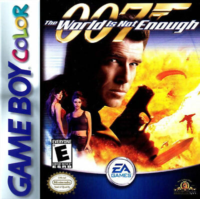 James Bond 007: The World Is Not Enough GBC New Game Boy Color, Game Boy Color