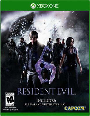 Resident Evil 6 HD Xbox One New Xbox One, Xbox One