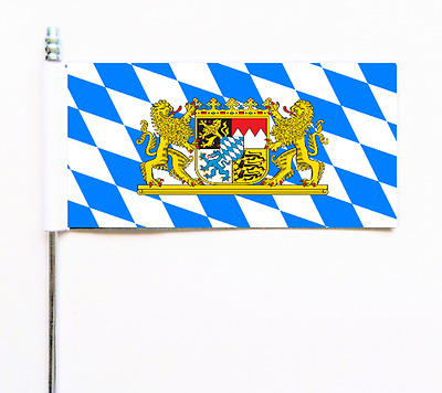 Germany Bavaria Crest Ultimate Table Flag