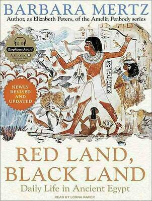 Red Land, Black Land: Daily Life in Ancient Egypt by Barbara Mertz (English) Com