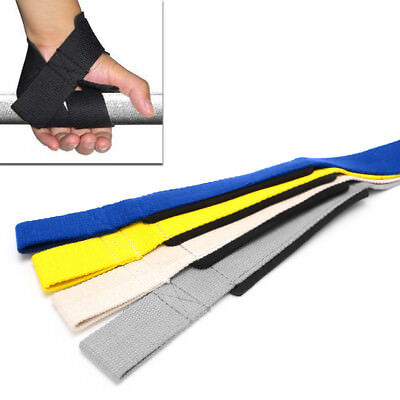 Pro Gym Wrist Strap Training Weight Lifting Powerlifting Hand Wraps Support New