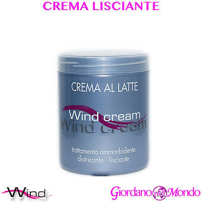 CREMA PER CAPELLI LISCIANTE DISTRICANTE E AMMORBIDENTE AL LATTE 1000 ml WIND