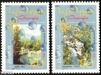 Georgia - 2001 - Europa CEPT, Water - Natural Treasure, 2v