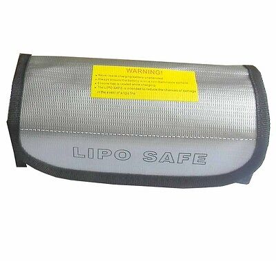 LiPo Battery Safe Guard Charging Protection Explosion-Proof Bag 185x75x60mm E