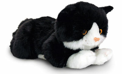 Keel Toys SMUDGE BLACK CAT Baby/Toddler/Kids Animal Soft Toy/Gift Nursery BN