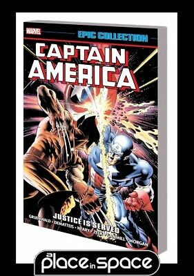 Captain America Epic Collection Justice Is Served - Softcover
