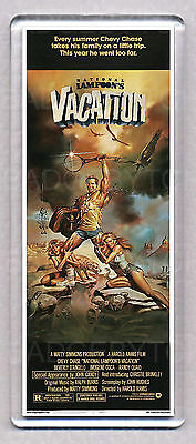 VACATION (83') movie poster LARGE 'WIDE' FRIDGE MAGNET - 80's CLASSIC!